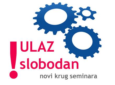 Novi krug seminara ULAZ slobodan