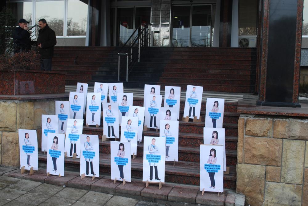 Predata peticija Ministarstvu zdravlja Republike Srbije